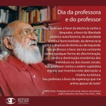 Dia do Professor (a)